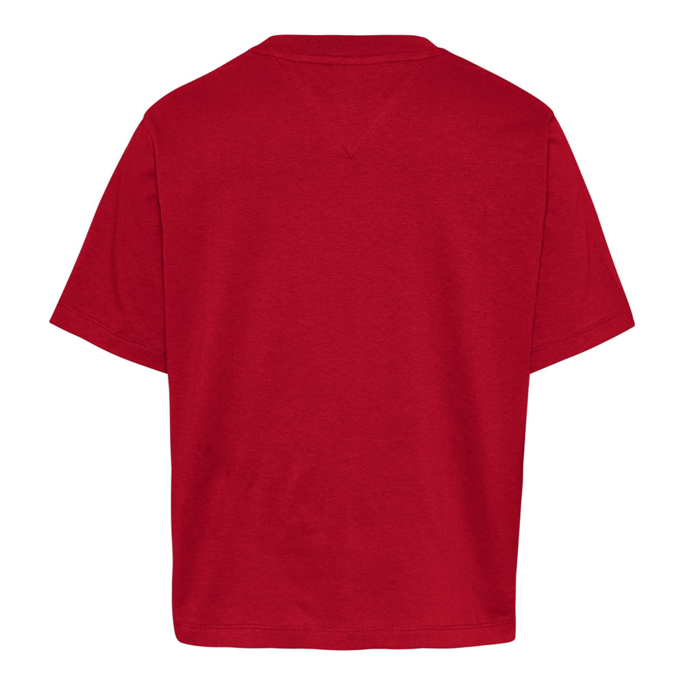 TOMMY H. LINEAR LOGO - ROSSO