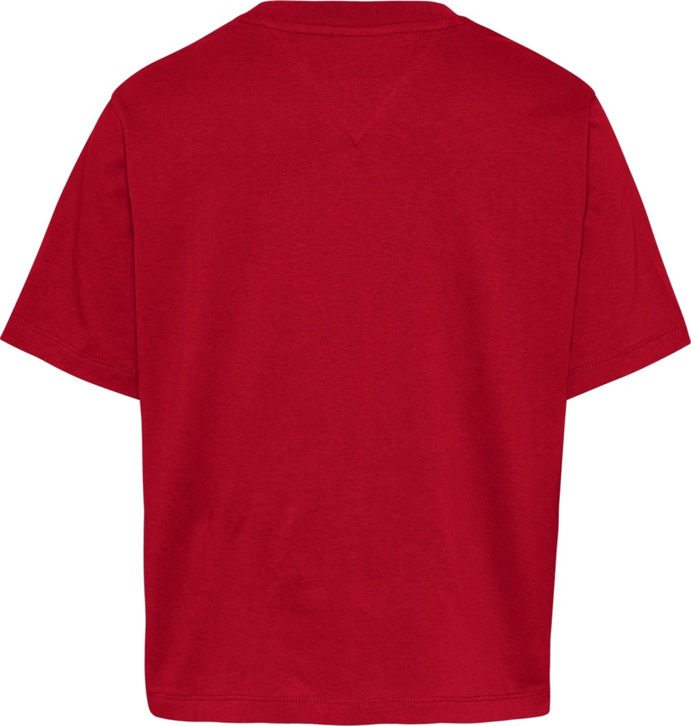 TOMMY HILFIGER T-SH - ROSSO