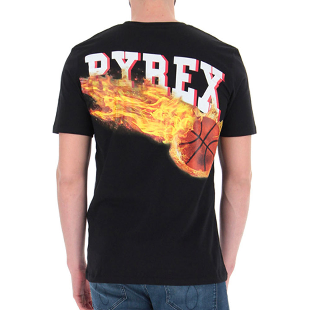 PYREX T-SHIRT - NERO