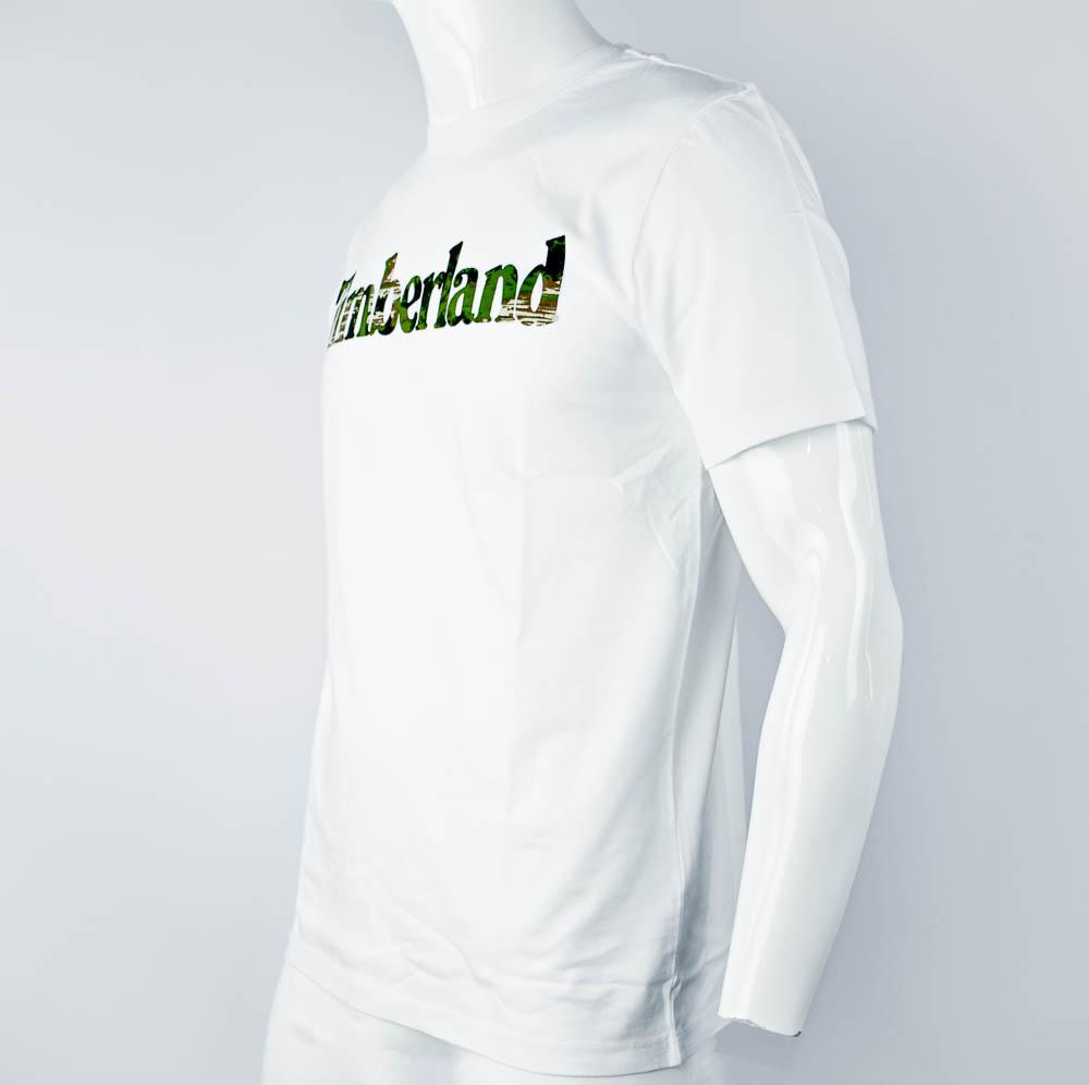 TIMBERLAND T-SHIRT M - BIANCO