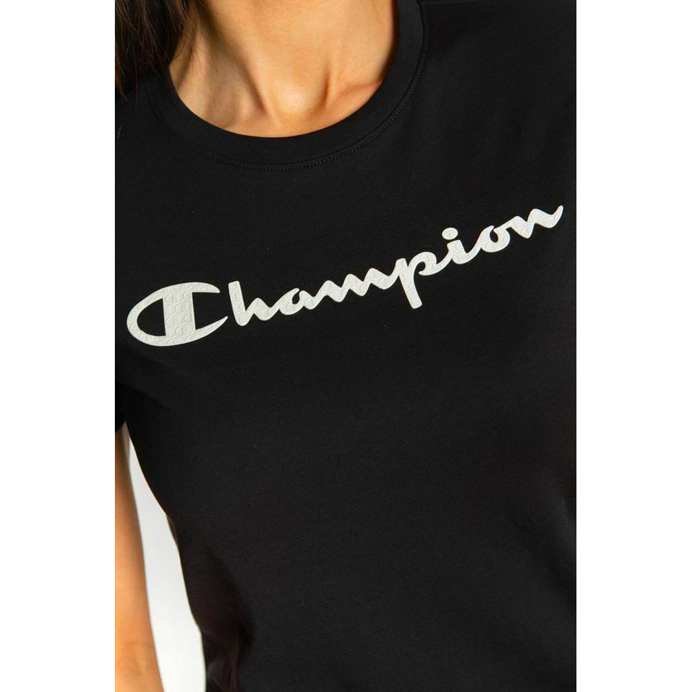 CHAMPION T-SHIRT DON - NERO
