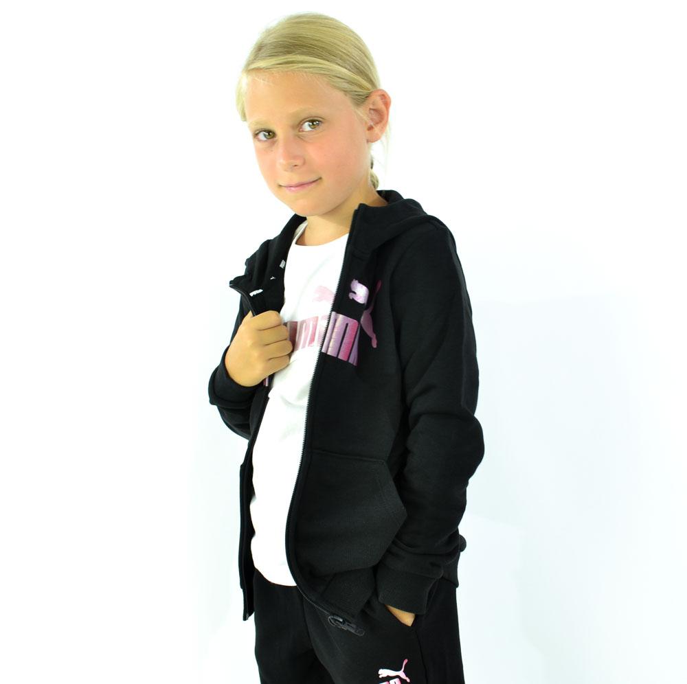 PUMA BTS FELPA GIRL - NERO