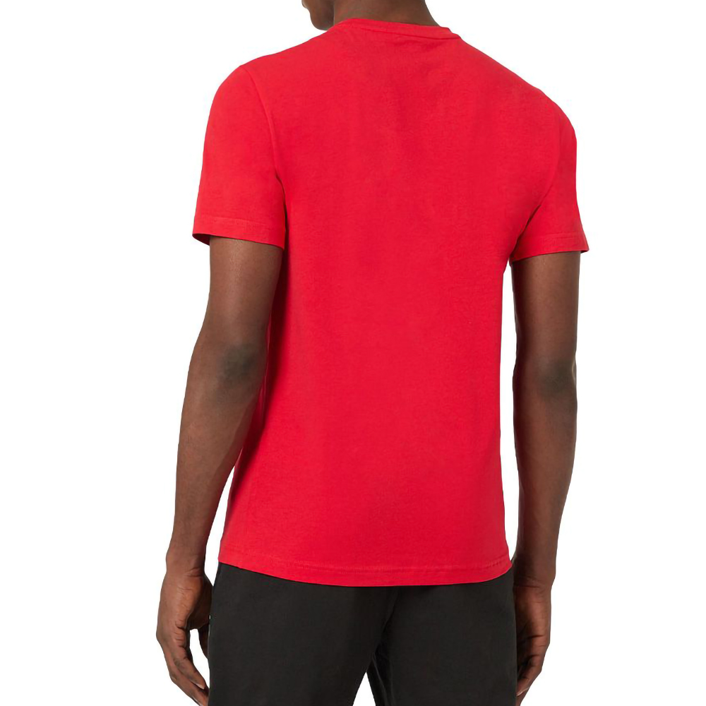 EA7 T-SHIRT MM - ROSSO