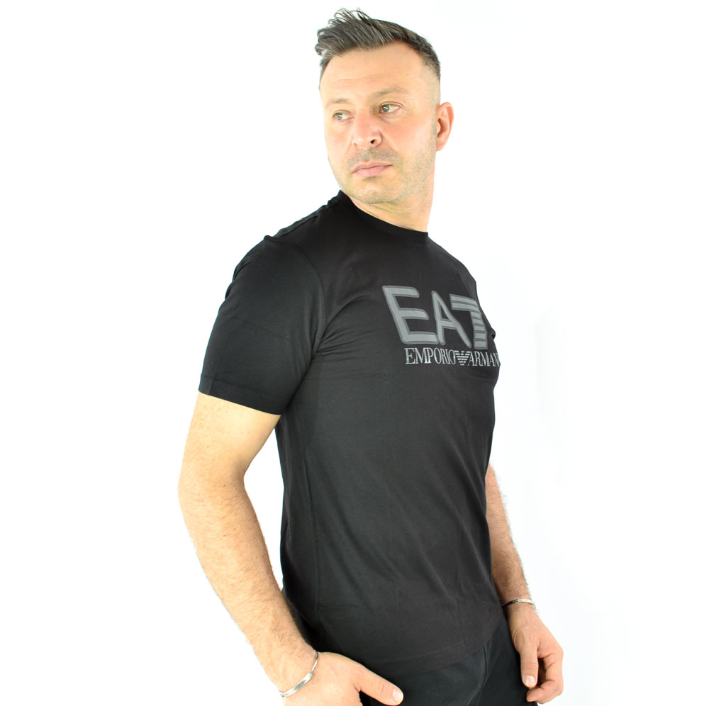 EA7 T-SHIRT MM - NERO