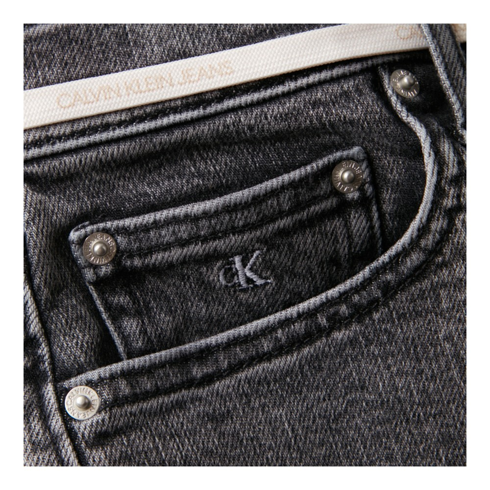 CK HIGH RISE SHORT - ANTRACITE
